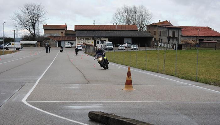 Circuit moto école Courtial